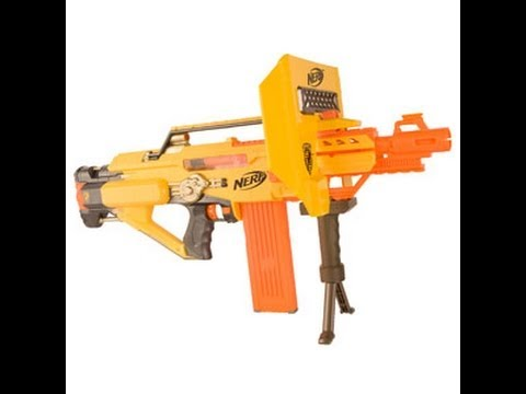 Nerf Stampede Review Youtube