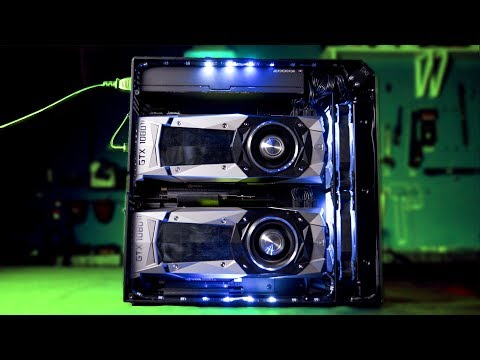 Thumbnail: SMALLEST SLI GAMING RIG – ONE OF A KIND!