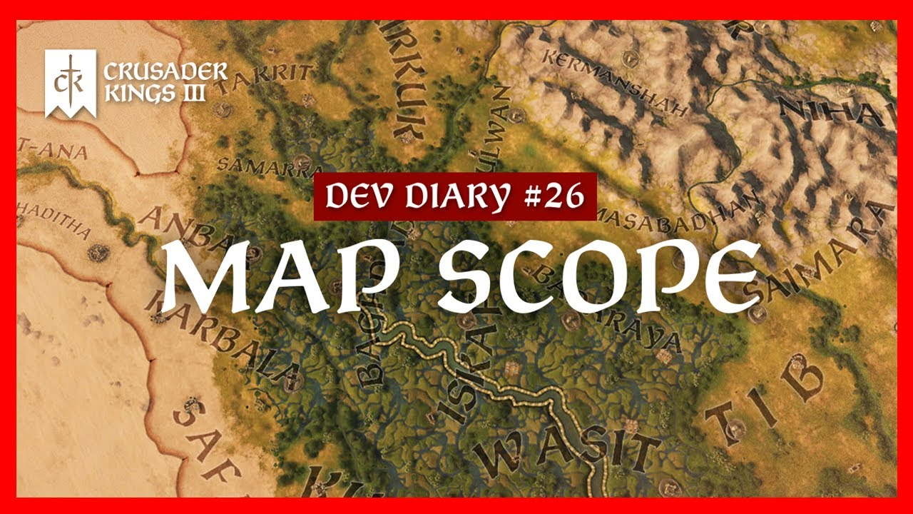 Crusader Kings 3 Dev Diary #26: Map ...
