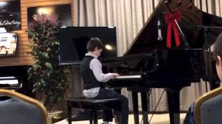 Josiah's winter 2013 recital Thumbnail