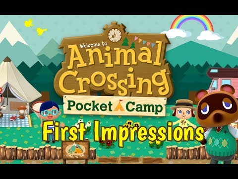 Animal Crossing Pocket Camp - First Impressions (Intro & Tutorial)