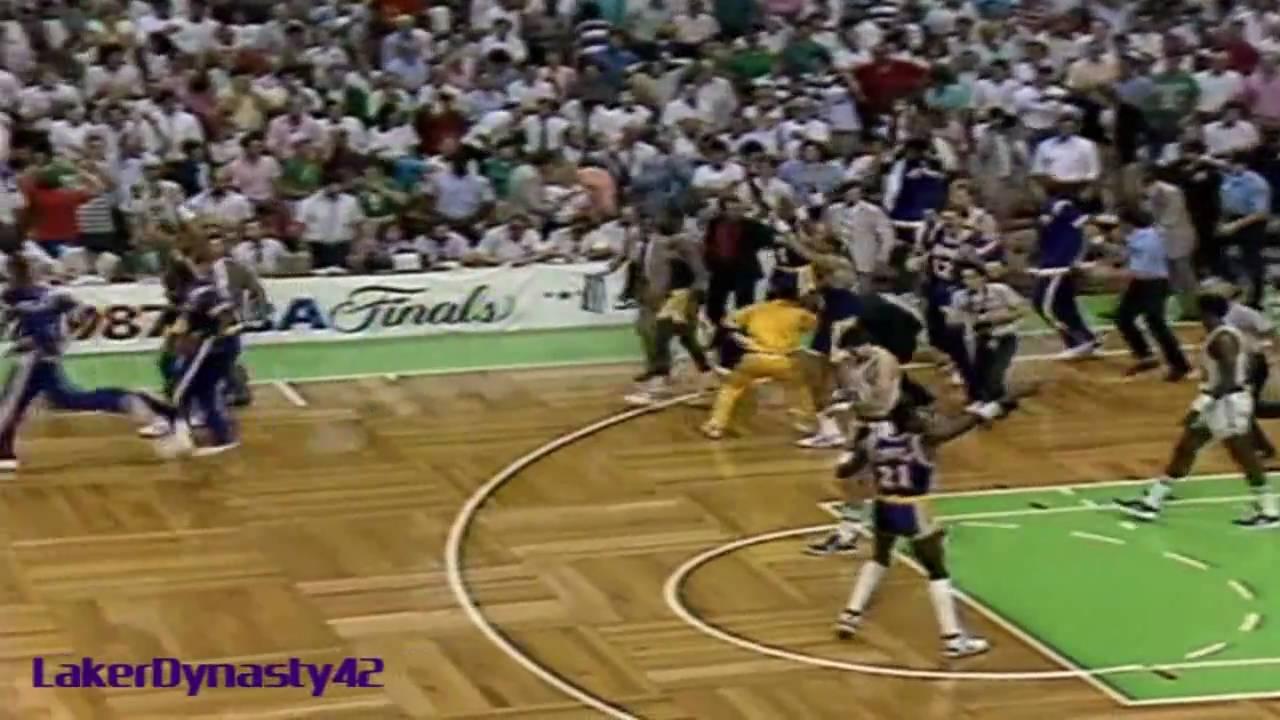 Magic Johnson 1987 Finals: Gm 4 vs. Boston Celtics, \