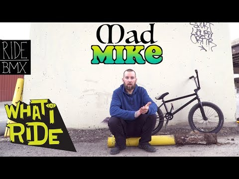 MAD MIKE GUTH - WHAT I RIDE (BMX BIKE CHECK)