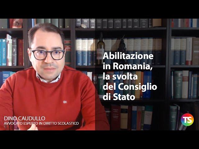 Abilitazione in Romania, la svolta del Consiglio di Stato