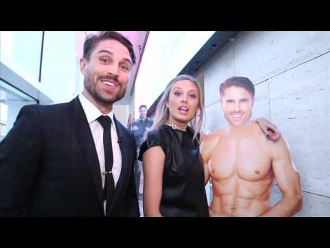 Melissa Ordway and James O'Halloran Tour The Paley Center CBS Daytime Exhibit