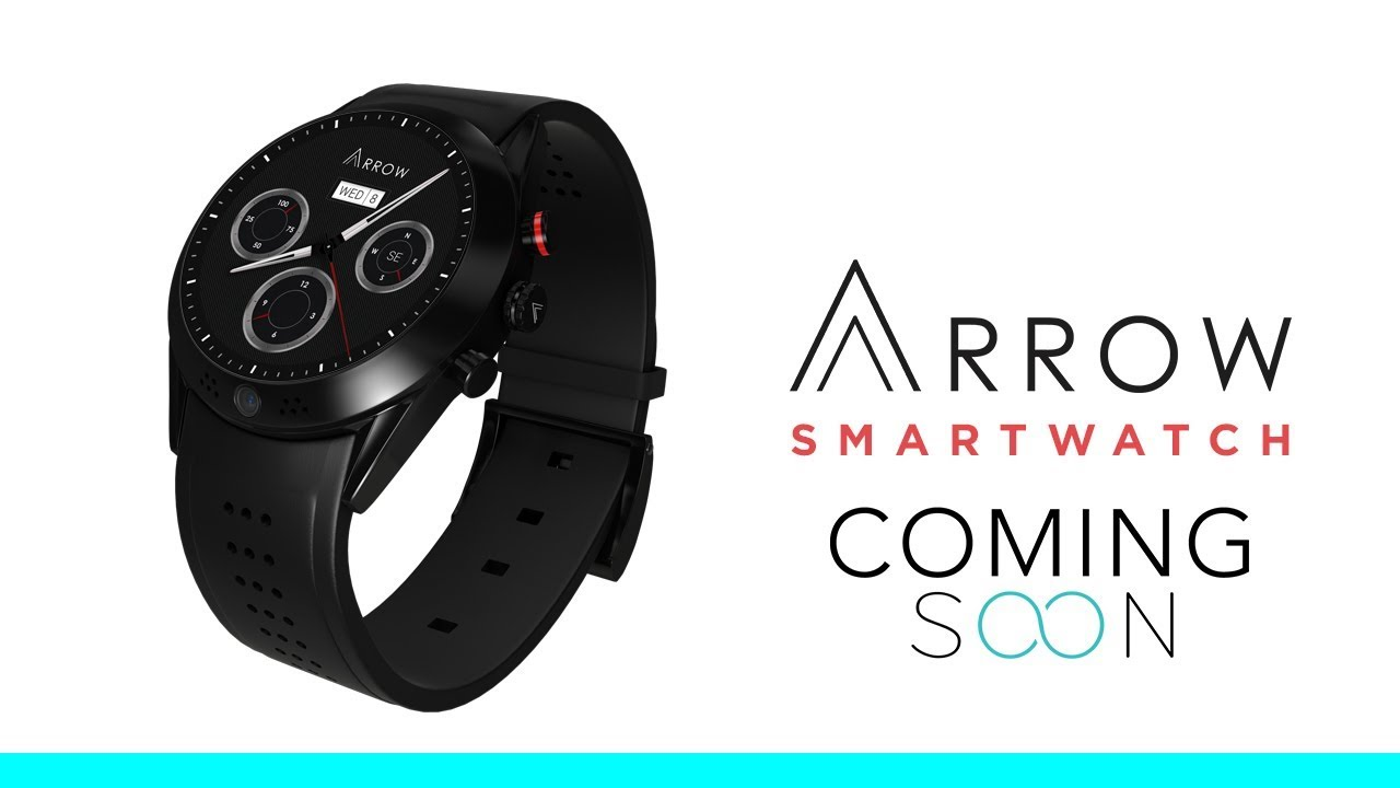 Arrow - Smartwatch with 360 Rotating HD Camera  | Indiegogo