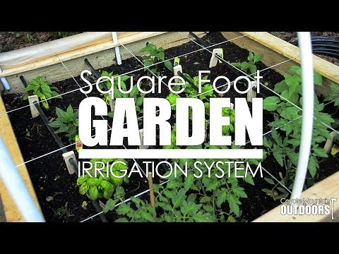 Square Foot Garden Series: Irrigation System