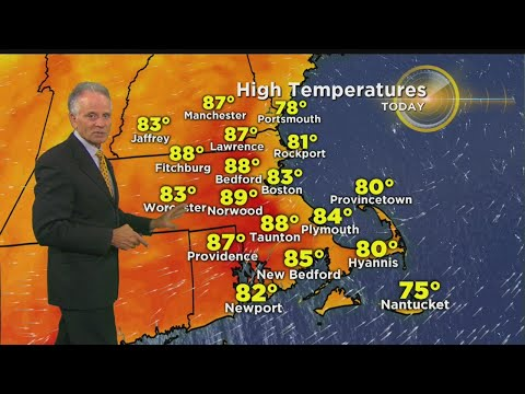 WBZ Midday Forecast For August 19