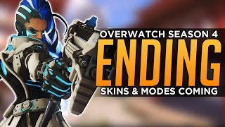 Overwatch: Season 4 Ending! - NEW Skins & Modes Coming!