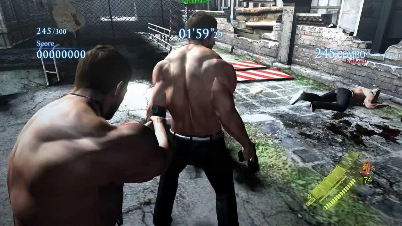 Resident evil 6 mod - re4 leon UPDATED VERSION - YouTube