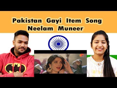 Indian Reaction on Neelam Muneer Item Song | Pakistan Gayi Song | Swaggy d