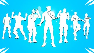 All Fortnite Icon Series Dances & Emotes! (Get Griddy, Hang Loose, Neymar Built-In, Hit It TikTok)