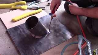 Lead flashing. How to do lead slate.