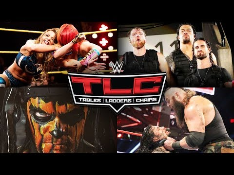 WWE TLC 2017 Full Match Card Predictions!