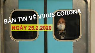 Bản tin về virus corona ngày 25.2.2020 | Cách ly triệt để khách từ tâm dịch Hàn Quốc đến Việt Nam