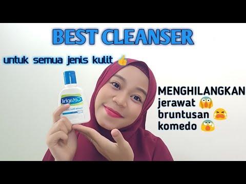 Review Cara Pakai Cetaphil Gentle Skin Cleaner Ampuh Untuk Menghilangkan Jerawat Dan Bruntusan Youtube