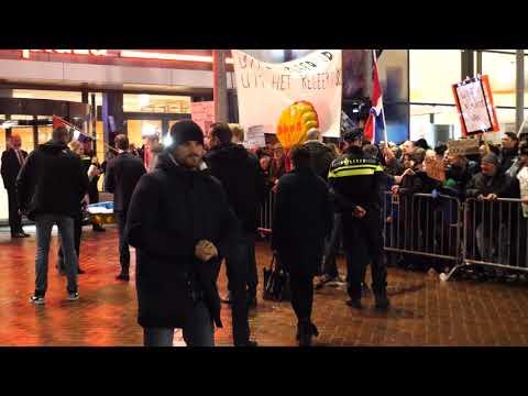 Actie tegen Wiebes en NAM wat betreft gaswinning in Groningen!