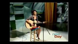 Nellie Veitenheimer sings a cover of Halo by Beyonce on King5 New Day Northwest