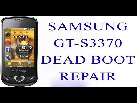 Samsung s3370 dead boot repair