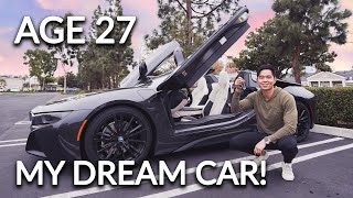 PICKING UP MY NEW 2019 BMW i8 ROADSTER!