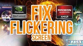 """League of Legends """"Fix flickering screen problem"""" [2016]"""