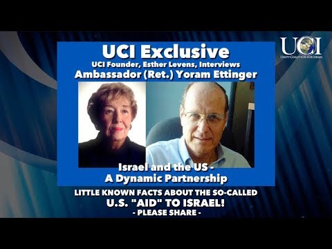 EXCLUSIVE: Amb. (Ret.) Yoram Ettinger - Israel and the U.S. - A Dynamic Partnership