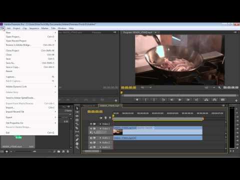 How to save Adobe Premiere videos as AVI
