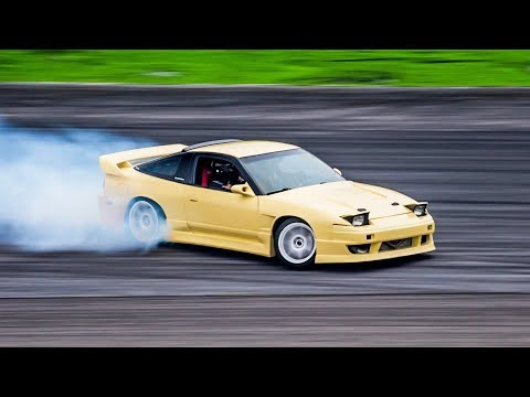 First Drifts with the 400HP SR20