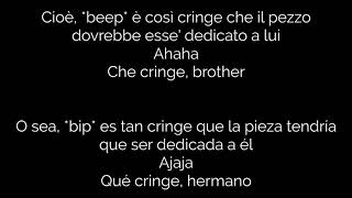 Tha Supreme x Young Miles - ke kringe xd | Testo (Lyrics) | Traducción Española