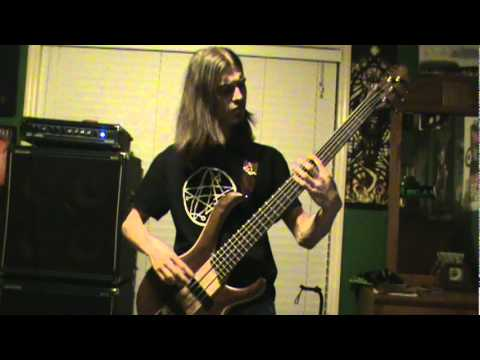 Immolation - The Purge Bass Cover