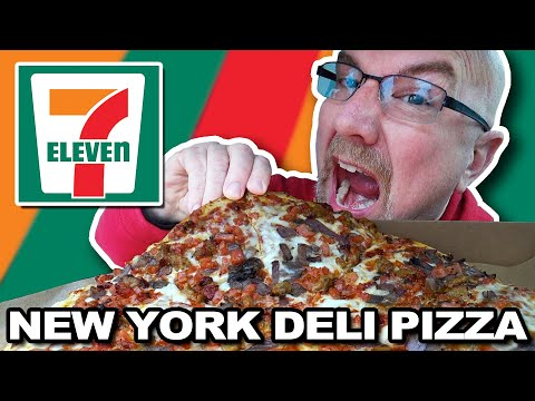 7-ELEVEN 🍕 NEW YORK DELI MEAT LOVER'S PIZZA 🍕 After A 44 Hour Fast