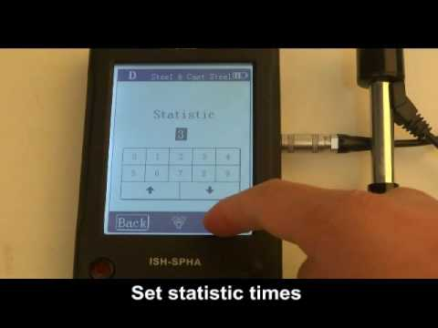 HARDNESS TESTER PORTABLE - Preparation 889208 -  Part 1 of 3