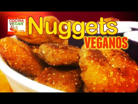 Nuggets veganos - Cocina Vegan Fácil