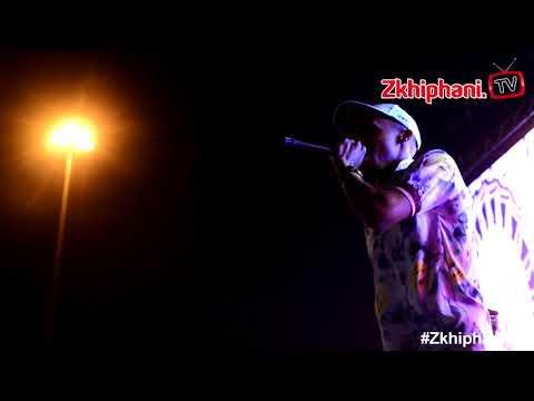 Tshego performs unreleased song THE VIBE #MajorLeagueGardens
