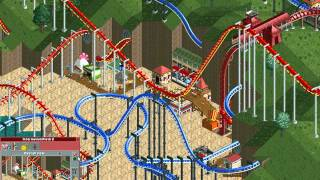 Rollercoaster Tycoon Loopy Landscapes #93 (Dragon