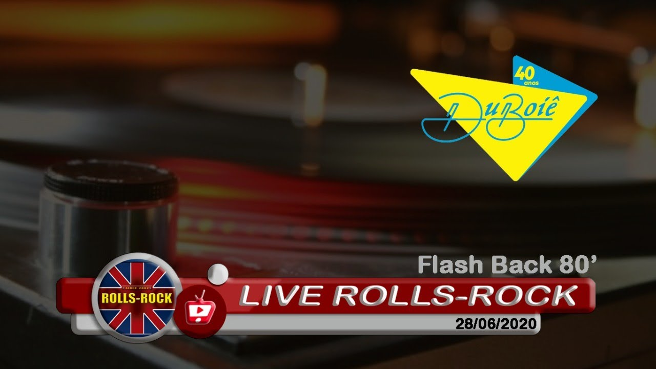 Live Rolls-Rock / Duboiê - Flash Back
