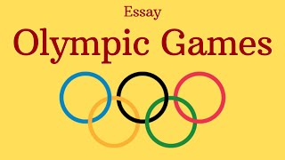 Olympic Games - Essay