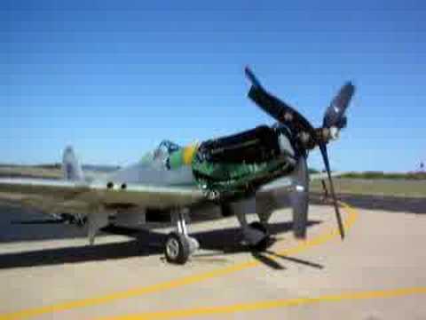 Starting Mk 47 Seafire.