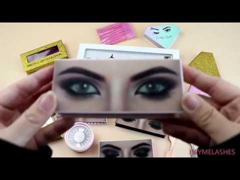 8709110104b Blinking Eyelashes Box from HeyMe Lashes - YouTube