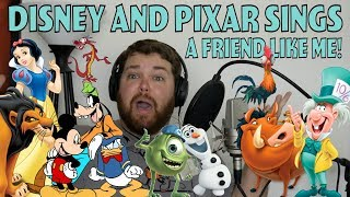 Disney and Pixar Sings Friend Like Me
