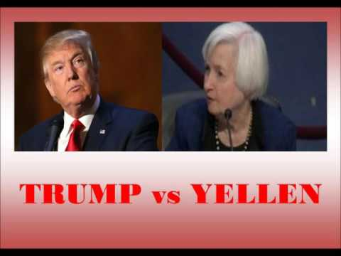 Federal Reserve Chairman Janet Yellen defies President-elect Trump