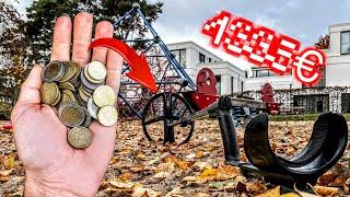 Wie viel Geld finde ich mit dem Metalldetektor auf 8 Spielplätzen?! Schatzsuche (Sondeln)