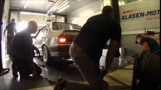 Audi 80 Quattro 20V Turbo GT*X*4094R on Dyno 803PS / 810NM @3.1Bar