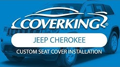 How to Install 2013-2018 Jeep Cherokee Custom Seat Covers | COVERKING®