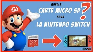 NINTENDO SWITCH | QUELLE CARTE MICRO SD CHOISIR POUR SA SWITCH ?