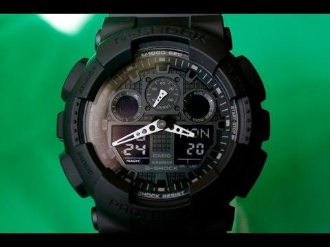 Casio G-shock Ga-100 инструкция на русском