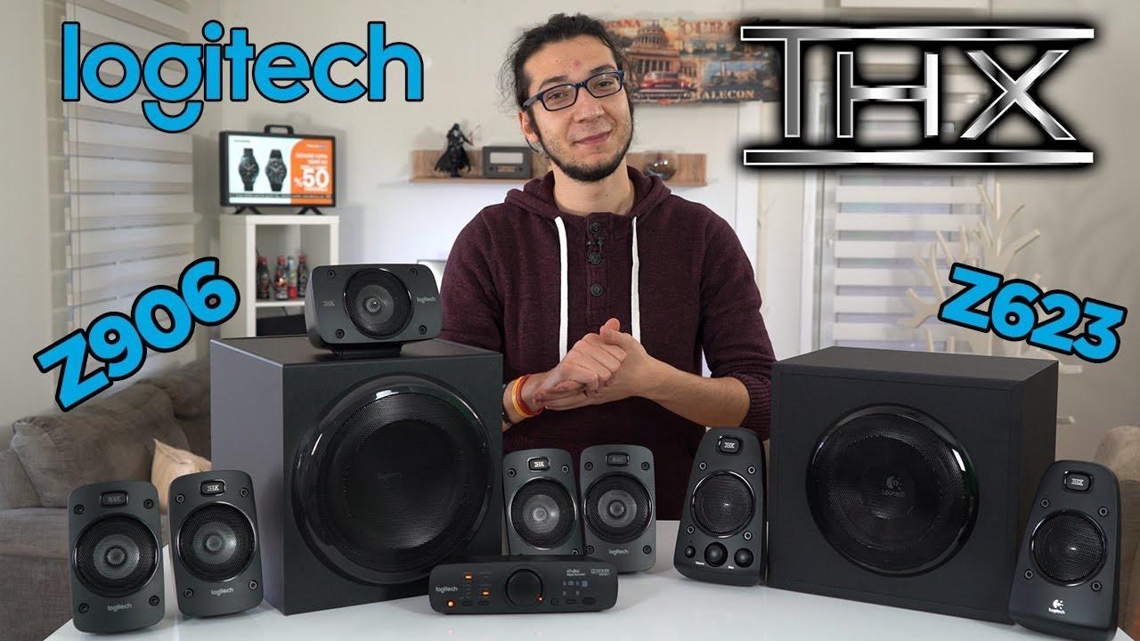 Logitech Z906 ve Z623 inceleme   THX ile gerçek ev sinema deneyimi! -  YouTube