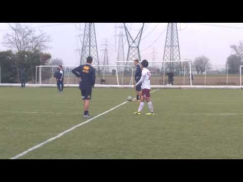 Allenamento congiunto Parma U 17-Himeji Dokkyo University, calcio inizio s.t.