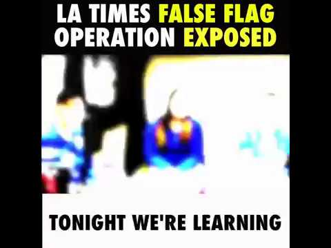 L.A. Times Gets Caught Red-handed Completely Fabricating Huge News Story- False Flag PROOF