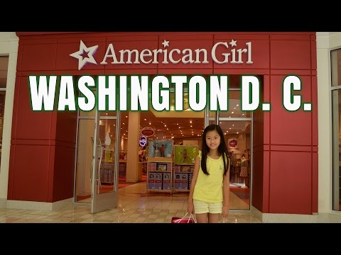 Visiting American Girl Place Washington D  C